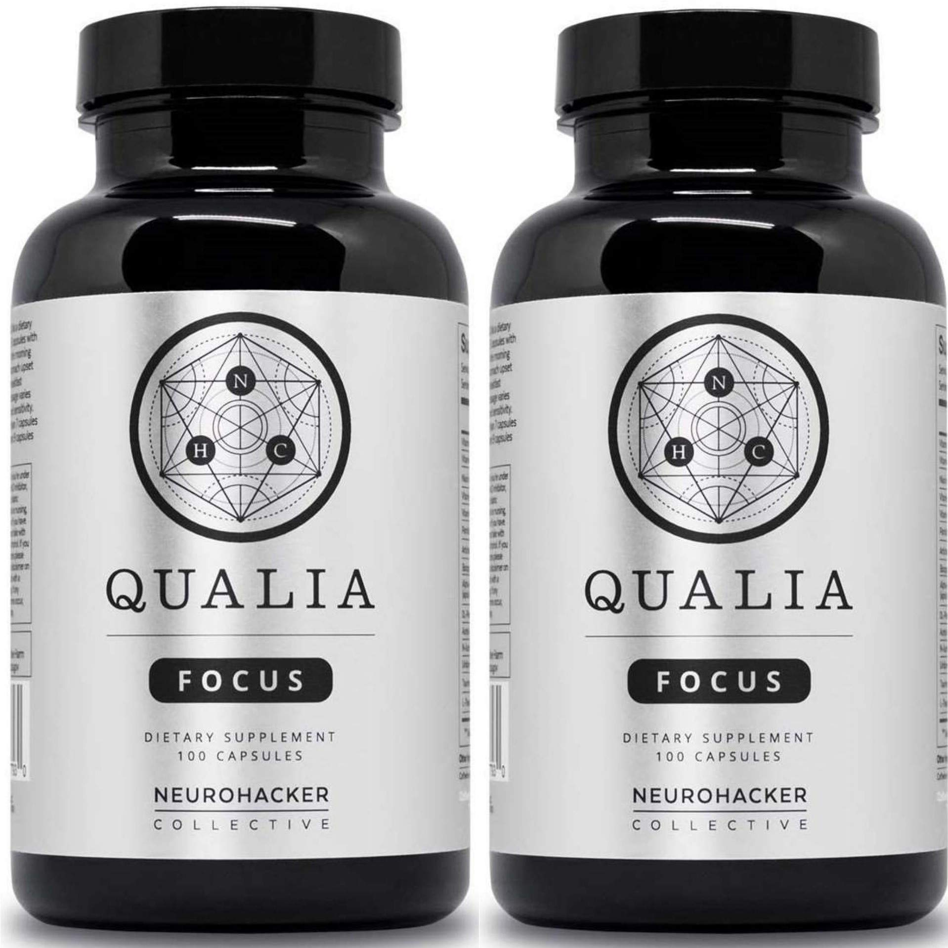 Qualia by Neurohacker Collective: The Most Comprehensive Nootropic Stack Designed to Increase Focus, Energy and Mental Performance by Neurohacker Collective (Image #1)