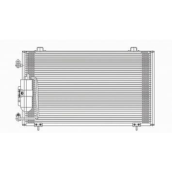 Varios fabricantes cnddpi4726 aire acondicionado condensador con receptor secador: Amazon.es: Coche y moto