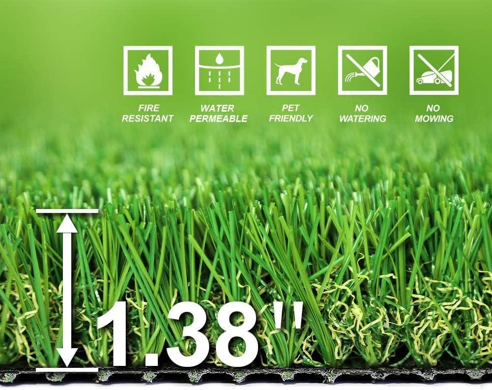 SunVilla SV7'X13' Realistic Indoor/Outdoor Artificial Grass