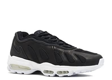 4a966d193362ad NIKE Mens Air Max 96 XX Black Leather Size 8