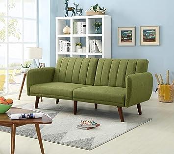 Amazon.com: Legend Vansen 1807 - Sofá cama, color verde ...