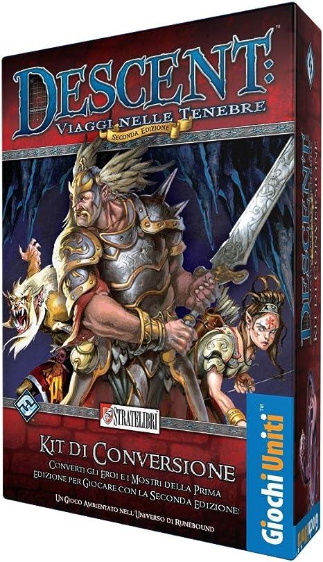 Giochi Uniti SL0172 – Juegos Descent 2ª Edición Color Kit de conversión: Amazon.es: Juguetes y juegos