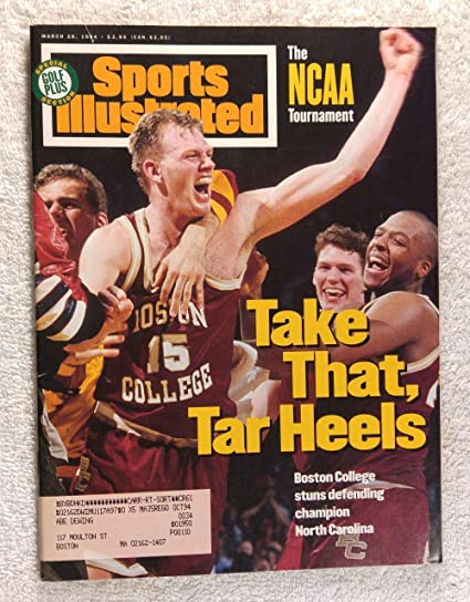 The NCAA Tournament - Bill Curley and the Boston College Eagles ...