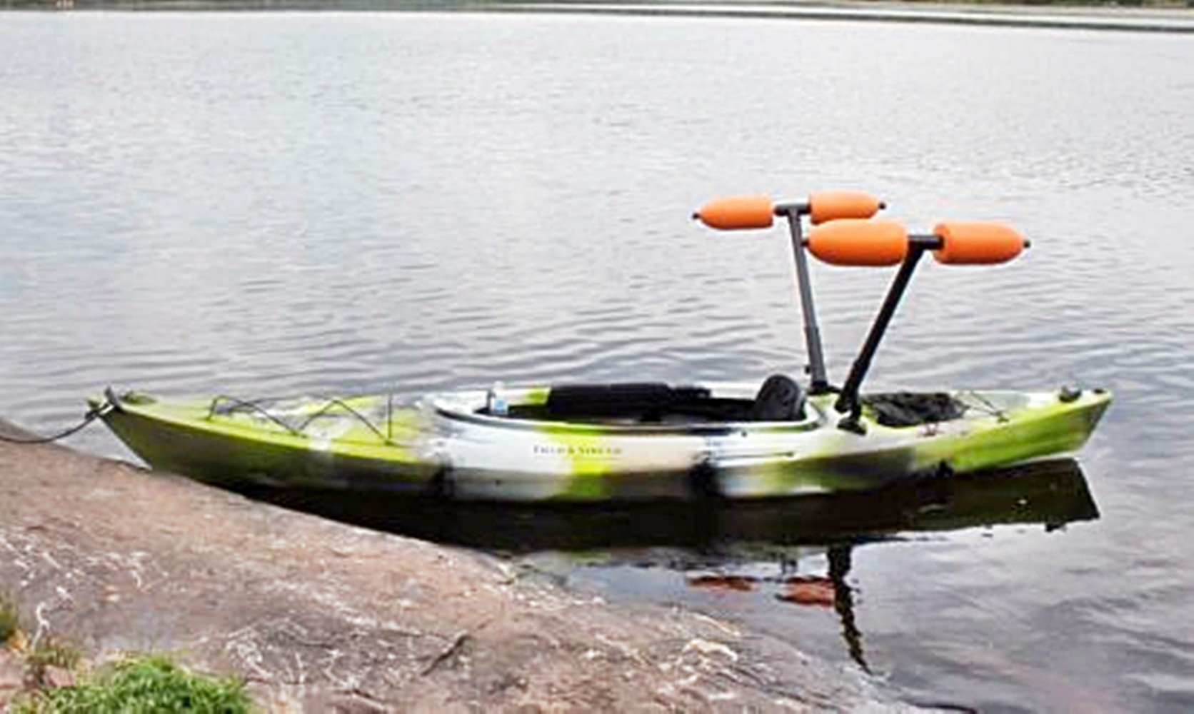 Kayak Outrigger Stabilizer for Sight Fishing, Standing & Beginners