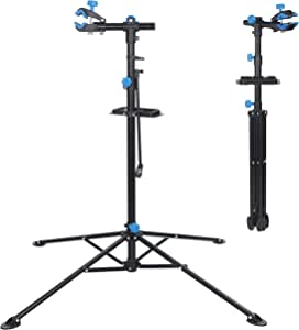 ZENY Bike Repair Stand Height Adjustable Quick Release Telescopic Arm,Mechanic Bicycle Bikes Maintenance Rack Workstand