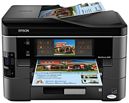 Epson c11ca97201 Workforce 840 All-in-One Printer con fax ...