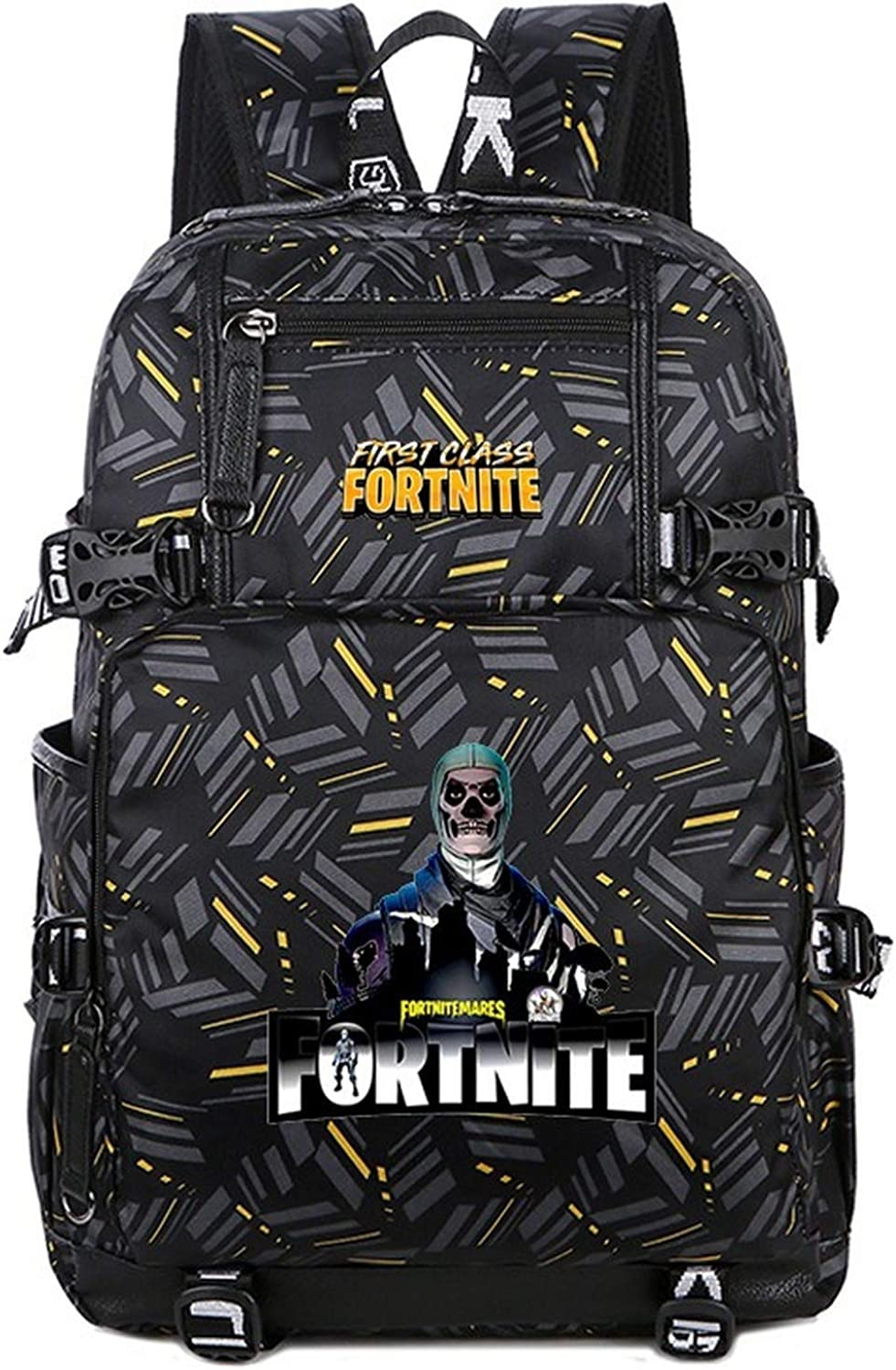 School Bag Teenager Casual Sports Backpack Men's And Women's Student Backpack For Fortress Night Game Related