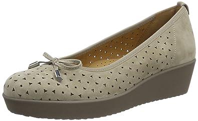 Gabor Shoes Comfort Ballerines Femme Amazon Fr Chaussures Et Sacs