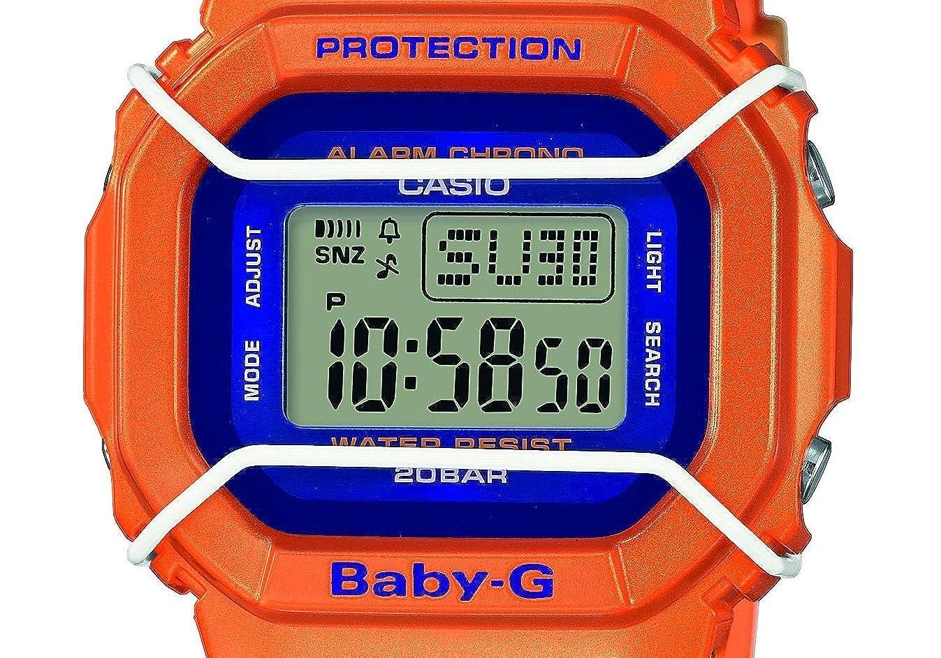 Casio Reloj Digital para Mujer de Cuarzo con Correa en Resina BGD-501FS-4ER: Amazon.es: Relojes