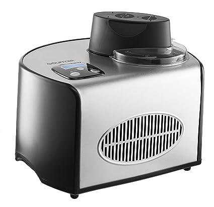 Gourmia GSI200EU Máquina automática para hacer helados de acero inoxidable 1,5 L - Helados