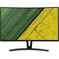 "Acer ED273A 27"" Full HD Curve Display Monitor, 1920 x 1080, DVI, HDMI, DisplayPort, Audio out"