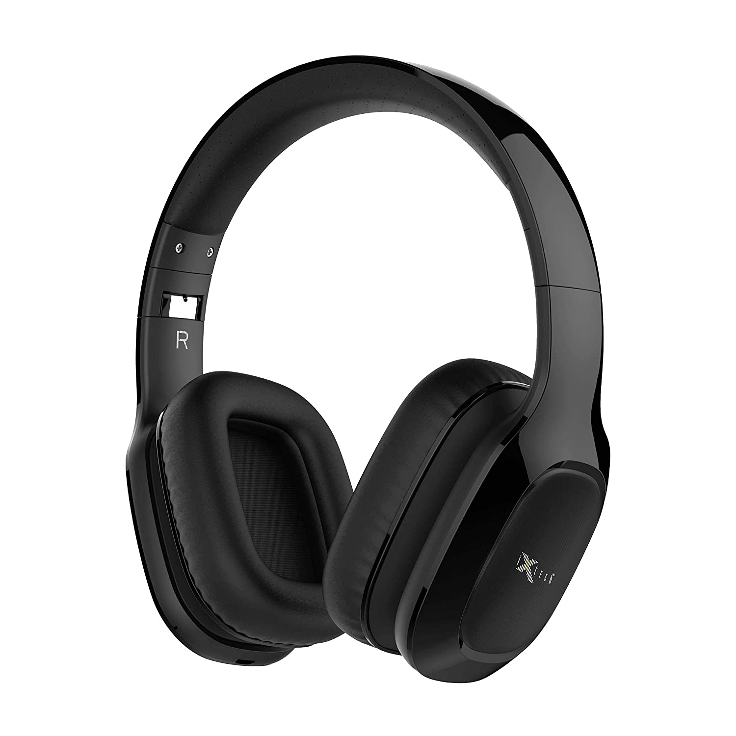 i-Xtech IX-E09 Bluetooth Headphones, Stereo Wireless Headsets Over Ear,Foldable Arm,Heavy Bass Soft and Comfortable Cover
