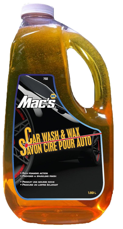 amazon com napa mac u0027s premium 702 car wash and wax