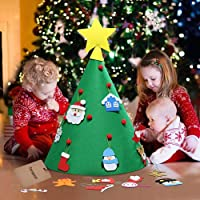 18PCS Christmas Craft Kit Xmas Tree Fai da Te Kit di Ornamento Fatto a Mano Forniture Artigianali