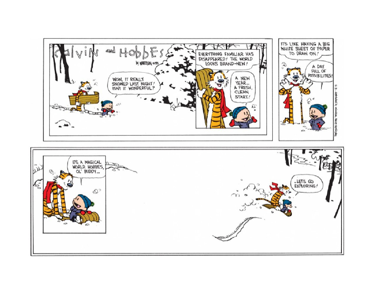 amazon com calvin u0026 hobbes art last calvin u0026 hobbes calvin and