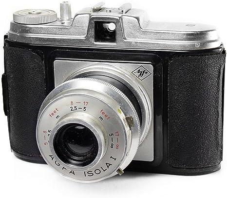 Agfa Isola I - Vintage 1950s formato mediano 120 cámara: Amazon.es ...