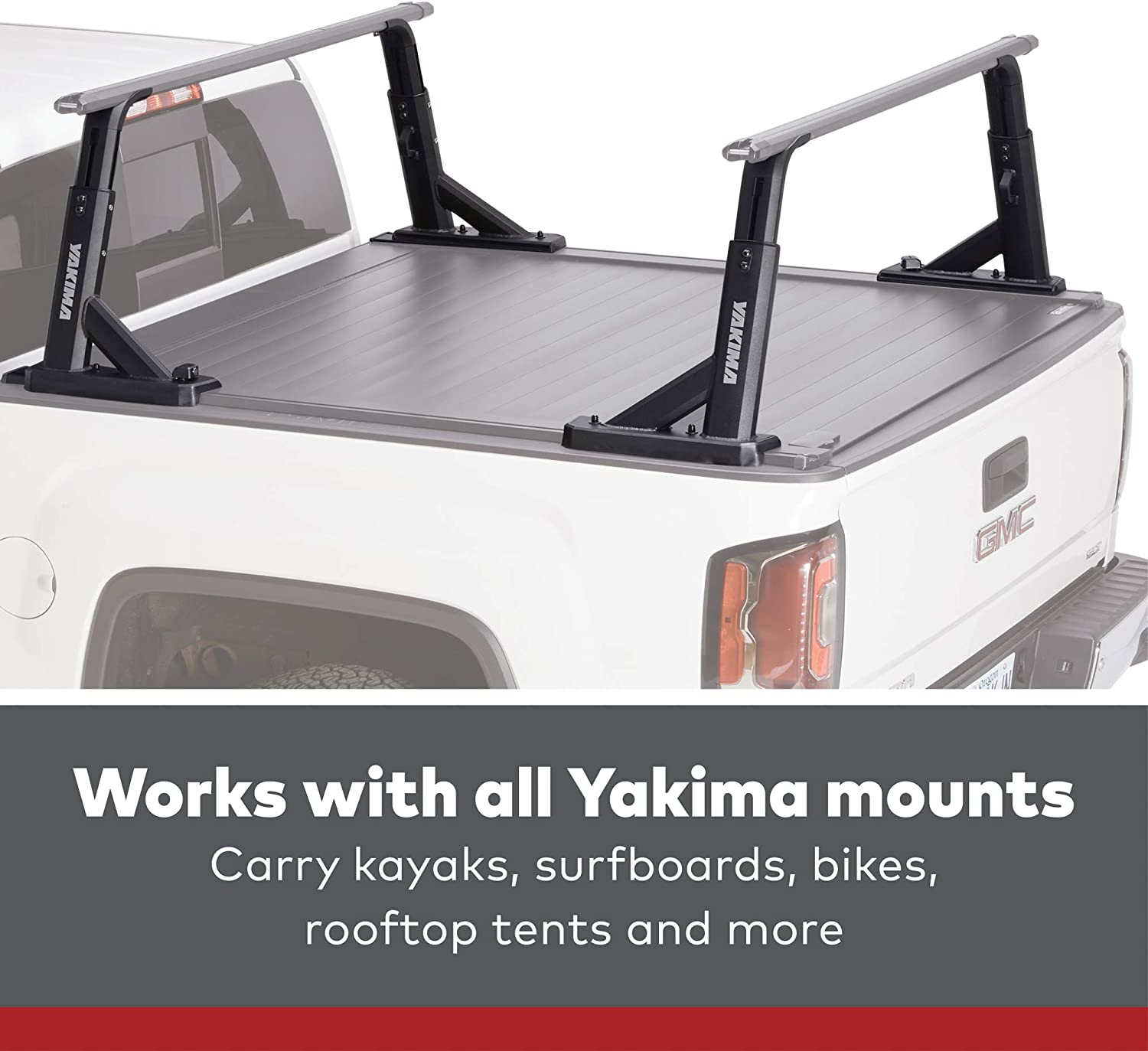 YAKIMA Overhaul HD Adjustable-Height Heavy Duty Truck Bed Rack