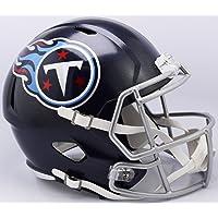 Tennessee Titans 2018 Logo Riddell Speed Mini Football Helmet - New in Riddell Box photo