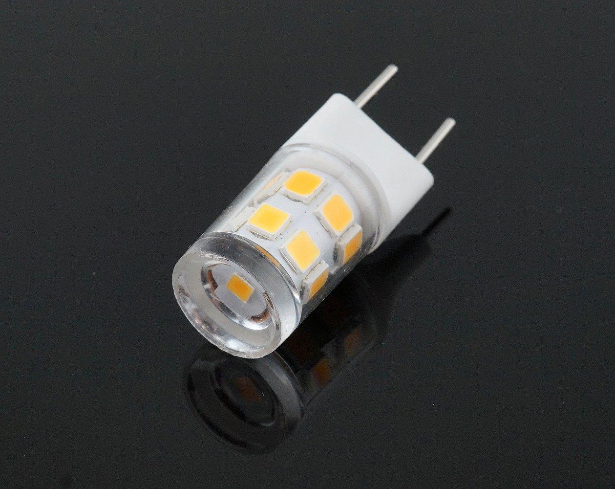 Bonlux LED G8 Light Bulb 2 Watts Warm White T4 G8 Base Bi Pin Xenon JCD  Type LED 120V 20W Halogen Replacement Bulb For Under Counter Kitchen  Lighting, ...