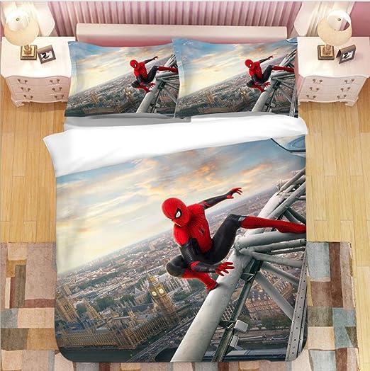 Multi Marvel Spiderman I am Spiderman Toddler Bed Set