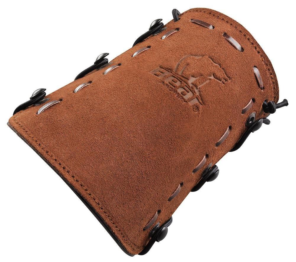 Bear Archery Leather Bear Logo Armguard