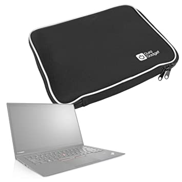 """DURAGADGET Funda De Neopreno Negra para Portátil LG gram 15"""" / Samsung Notebook 9 15"""""""