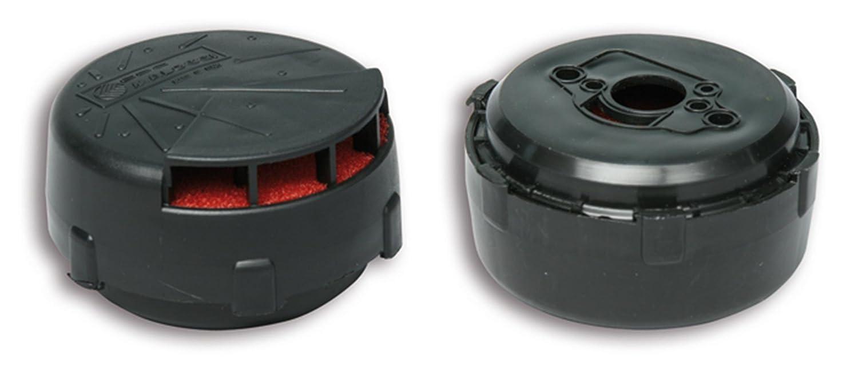 SHB 16.10//16.12//16.16 f/ür Vespa 50//N//L//R//S//SS//Revival //Special//90//R//SS//125 VMA1 schwarz Rennluftfilter MALOSSI E3C Innenfilter: rot