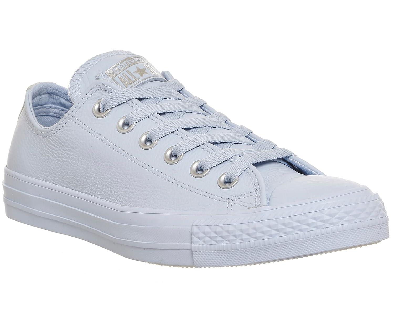 Converse Mono Chuck Taylor All Star Mono Converse Ox, Unisex - Erwachsene Sneaker Porpoise Pure Silver Snake Exclusive f55374