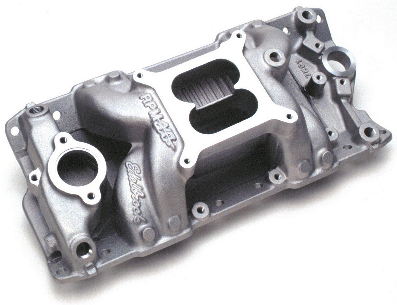 Amazon.com: Edelbrock 7501 Performer RPM Air-Gap Intake Manifold ...