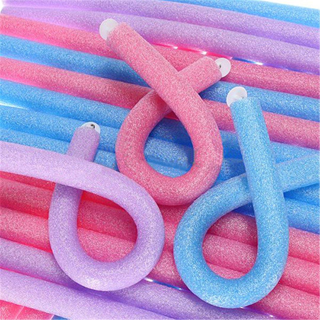 10 Pcs Soft Foam Curler Sticks DIY Hair Design Curl Roller Tool by HAHUHERT (Image #2)