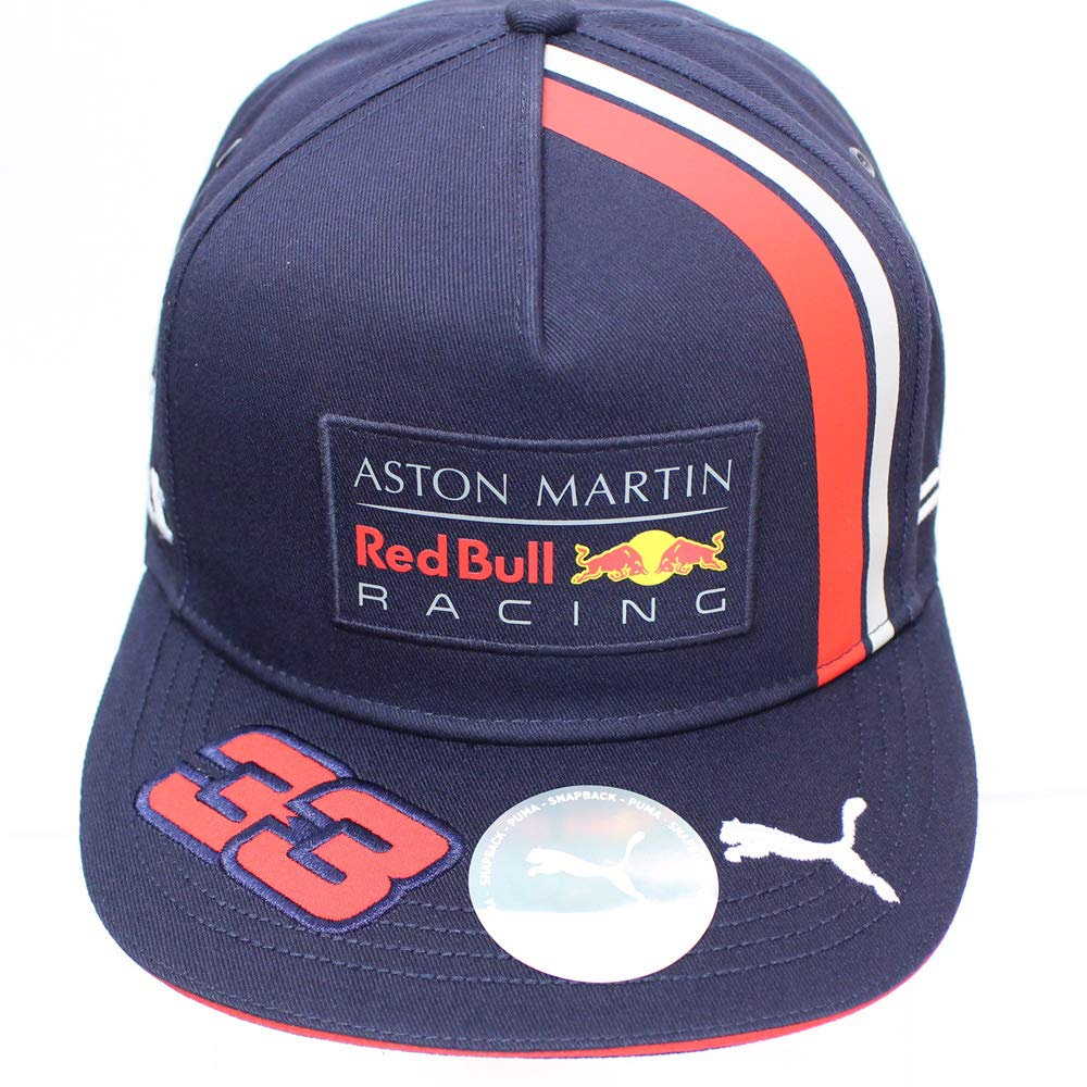 Amazon.com: Red Bull Racing 2019 F1 Max Verstappen Flat Brim Cap: Sports & Outdoors