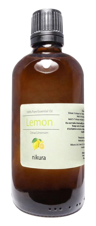 100% Pure Lemon Essential Oil 10ml, 50ml, 100ml (10ml) Nikura