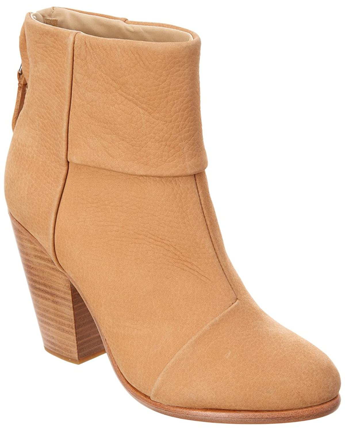 rag & bone Leather Ankle Boot, 11, Brown -