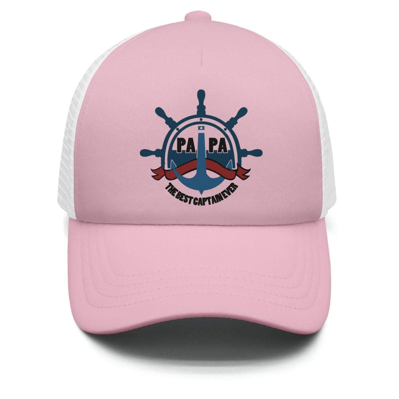 Wlpjsjkd Boy's/Girl's Best Captain Ever Baseball hat Pride Running Cap