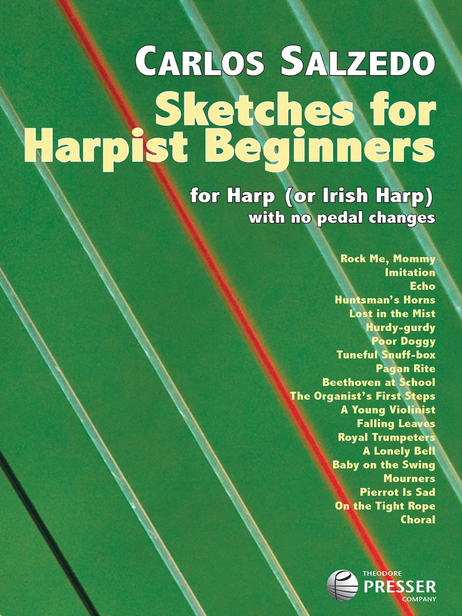 sketches-for-harpist-beginners