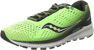Saucony Breakthru 3, Zapatillas de Running para Hombre, Verde (Slime/Black), 44.5 EU: Amazon.es: Zapatos y complementos
