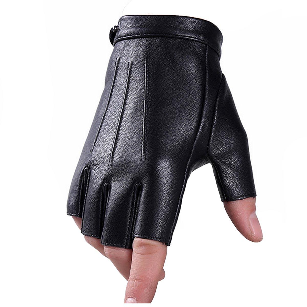 61101e3fb5d9 Hiver éthiopien Véritable En Cuir Mitaines Gants Fuxury Laine Écran Tactile  Texting Dress Conduite Gant pour Hommes Femmes Moto