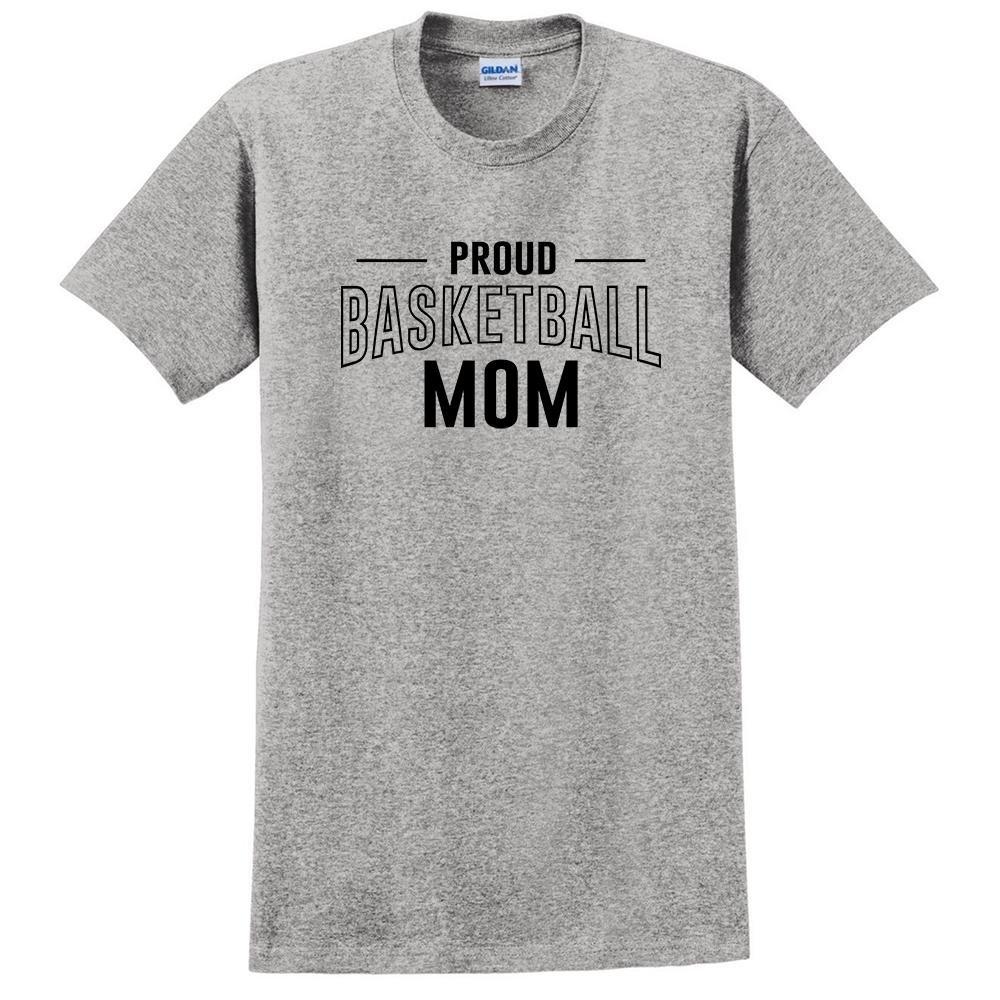 keeponprint Proud Basketball mom Basketball Team Squad Sport mom t Shirt