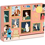 """Galison Herstory Museum Puzzle, 1,000 Pieces, 20"""" x 27"""" – Jigsaw Puzzle Featuring Empowering Artwork from Ana San Jose with Shiny, Foil Accents – Thick, Sturdy Pieces, Great Gift Idea, Multicolor"""