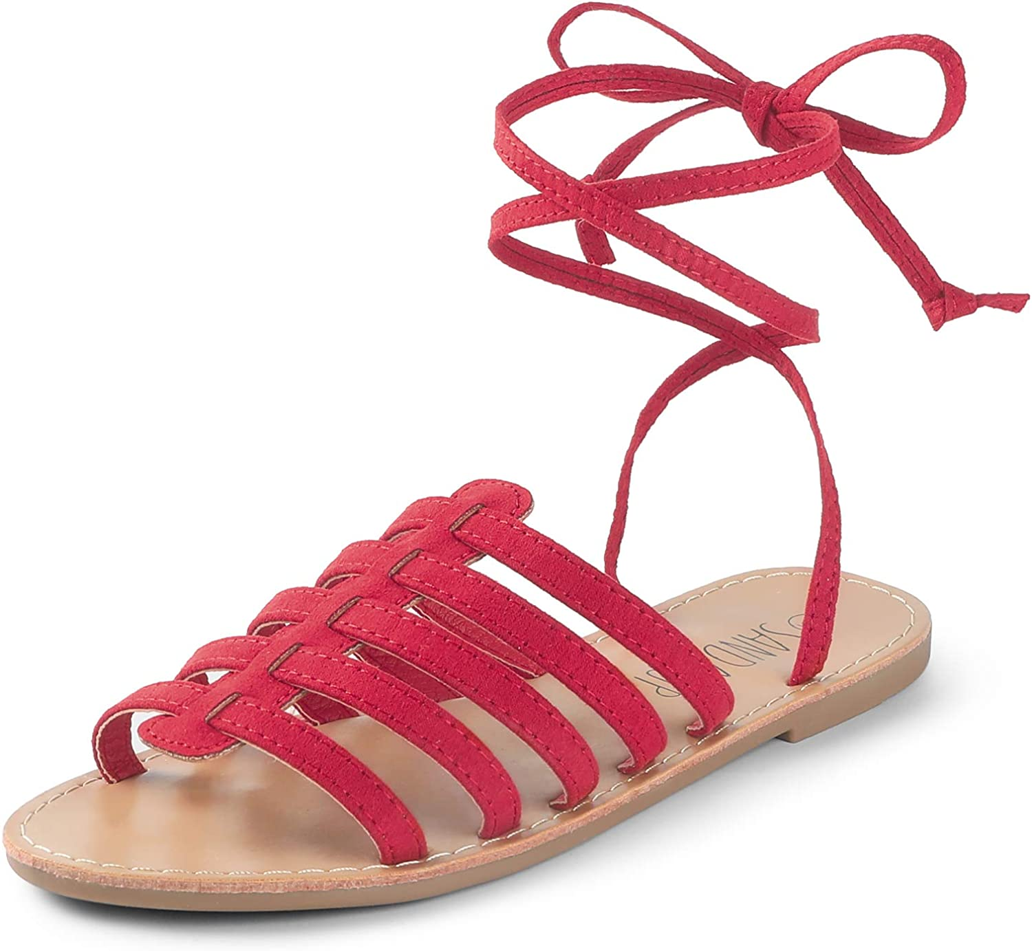 Details about  /Sandals Shoes Lace Beach Gladiator Solid Color Up  Women  Casual  Summer