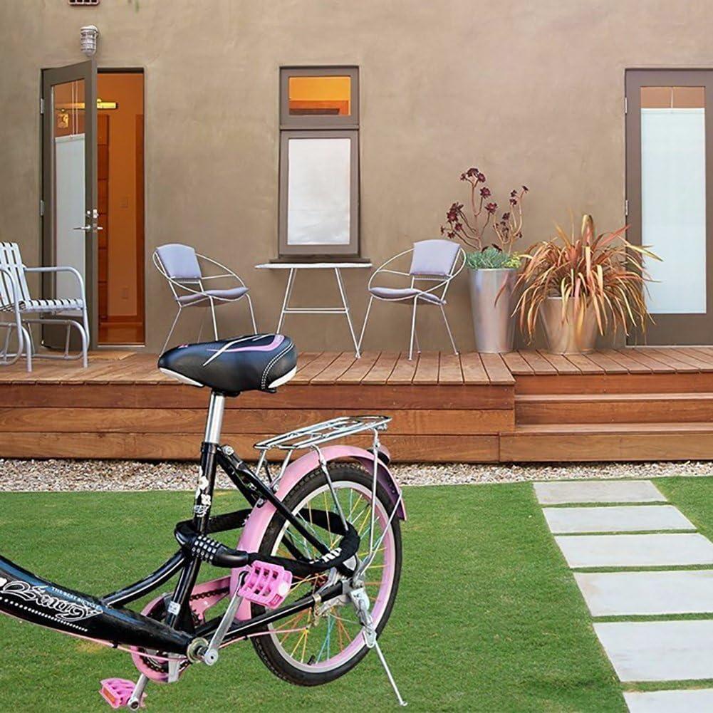 Mondpalast MPTECK @ Blocco della Bici Sicurezza Blocco Catena della Bicicletta antifurto Acciaio Inossidabile antifurto Catena della Bici Blocco Blocco Moto Circa 6mm x 900mm 10000 Combinazioni