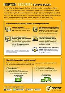 Norton Security | 1 Device (pc/mac/mobile)