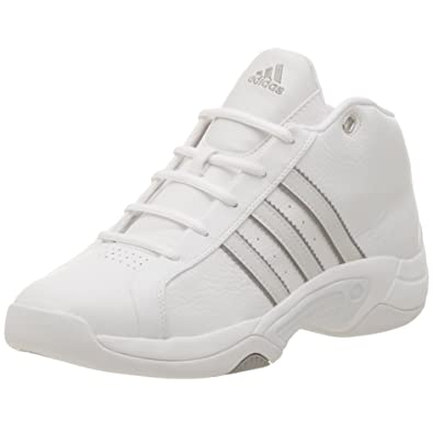 the best attitude 04c1c 6bffe adidas Mens Midseason Basketball Shoe,Run WhiteRun White,6.5 M
