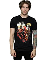 Marvel Men's Deadpool Outta The Way T-Shirt