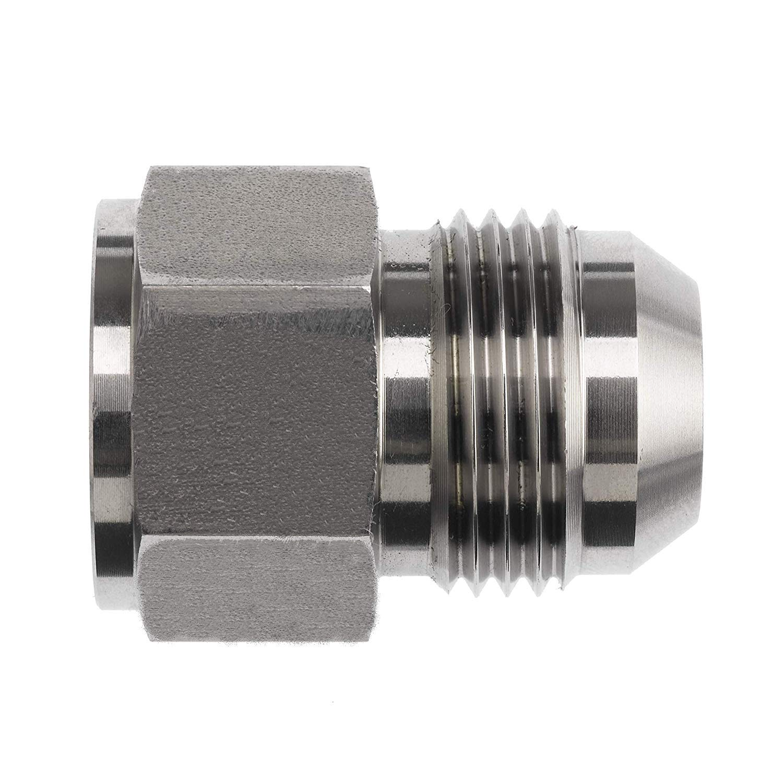 2406-08-05 Hydraulic Fitting 1//2 Female JIC X 5//16 Male JIC Carbon Steel