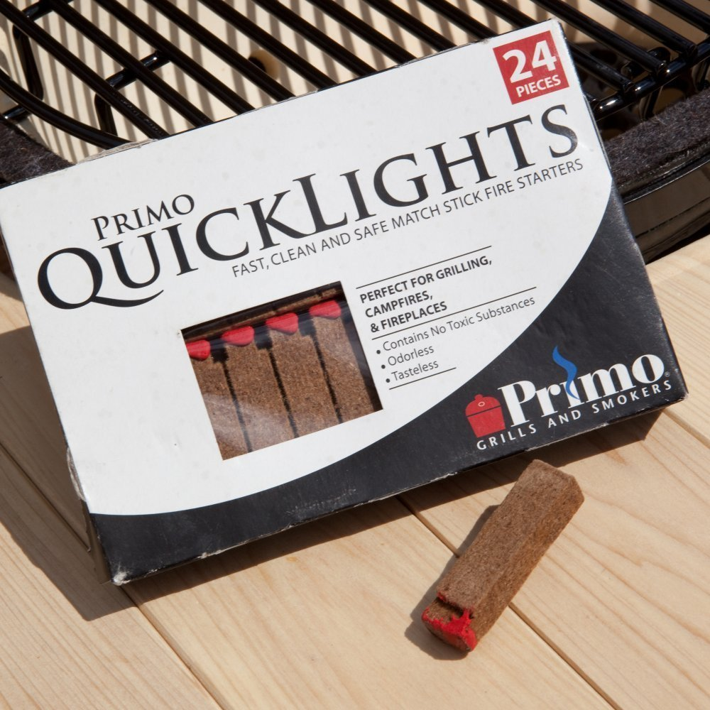 Primo 609 Quick Lights Fire Starters, 24-Pieces per box by Primo