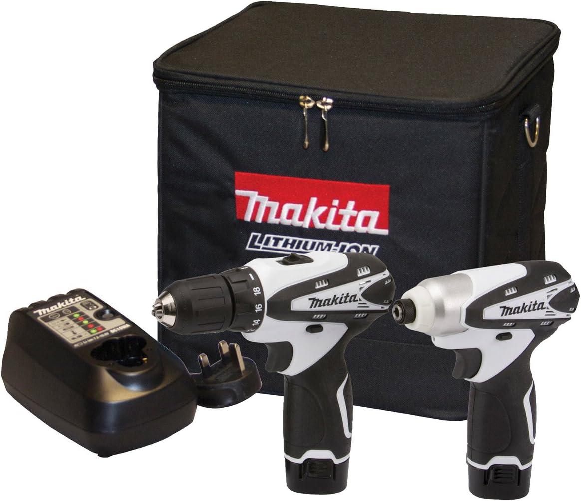 Makita DK1493WX - Juego de herramientas eléctricas (10.8 voltios ...