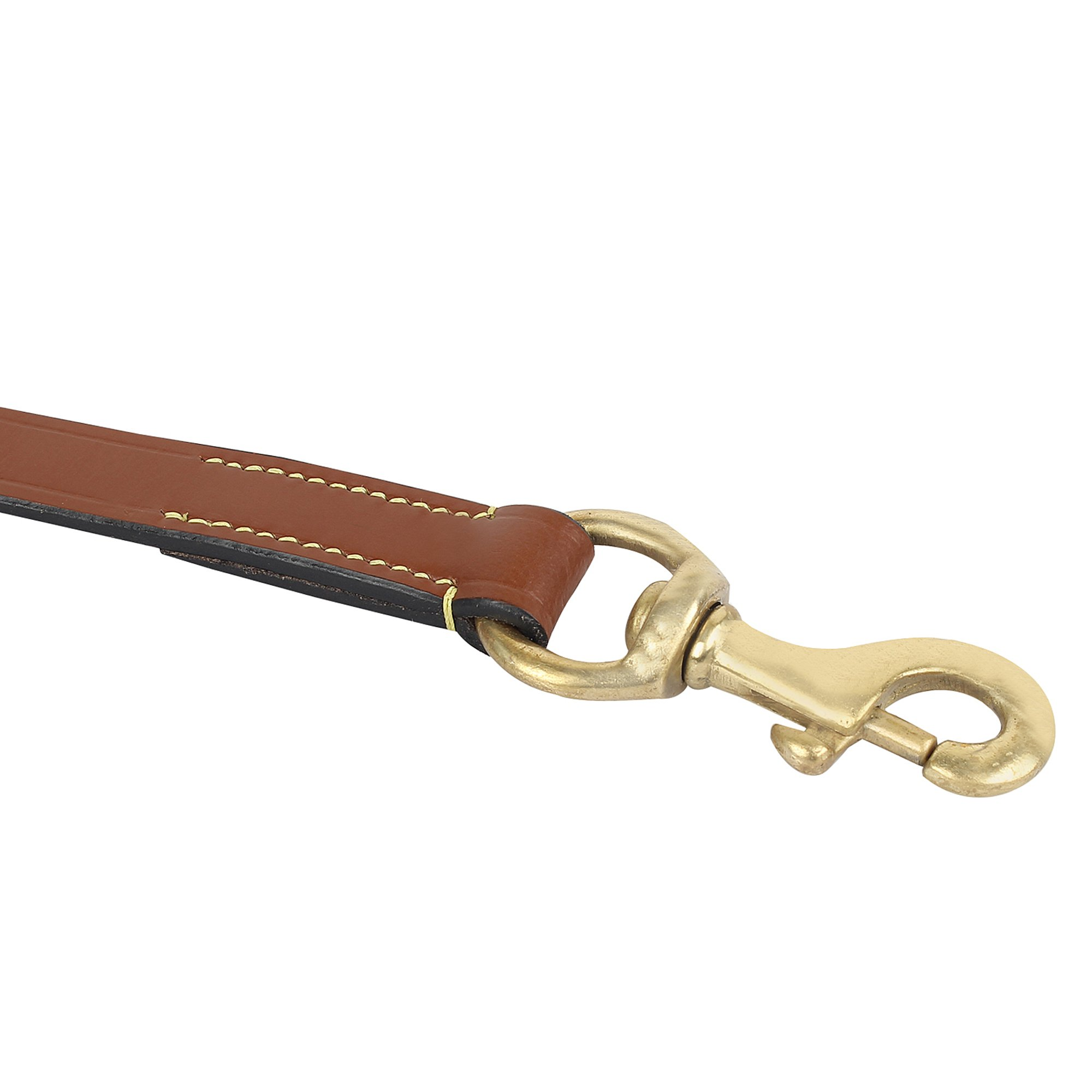 Rustic Town Leather Dog Leash 6 ft - Gentle Leader Leash for Small, Medium & Large Dogs - Miltary Grade Lead for Training & Walking by Rustic Town (Image #5)