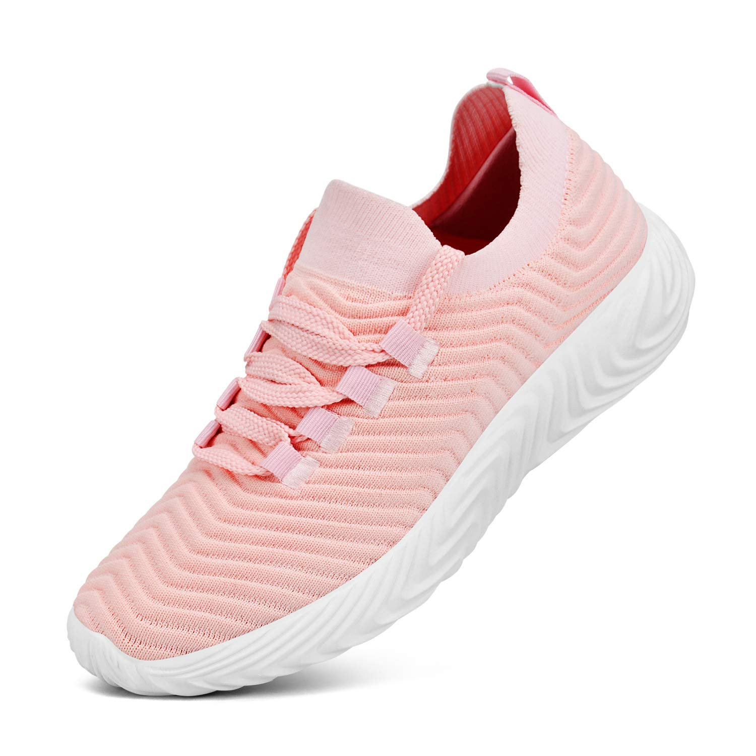 Feetmat Shoes for Women Ultra Lightweight Lace up Workout Sneakers