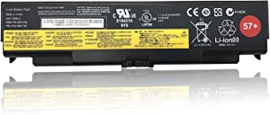 TanDirect New 57+ 48Wh Replacement Laptop Battery Compatible with Lenovo ThinkPad T540P L440 L540 W540 Series; T440P 45N1145 45N1147 45N1151 45N1158 45N1163 (10.8V 4400mAh)